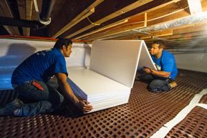 Crawl Space Insulation In Duluth Superior Grand Rapids
