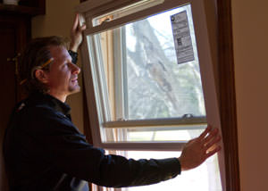 A replacement window installation in Aitkin